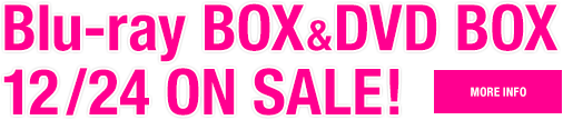 Blu-ray BOX&DVD BOX12/24 ON SALE!